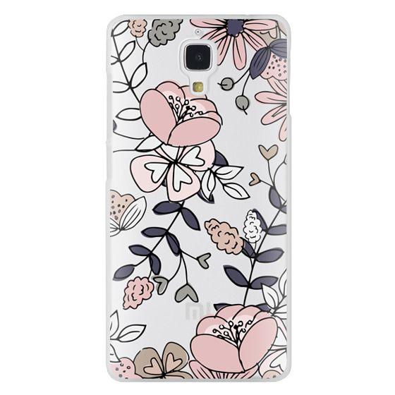 Xiaomi 4 Cases - Blush Floral