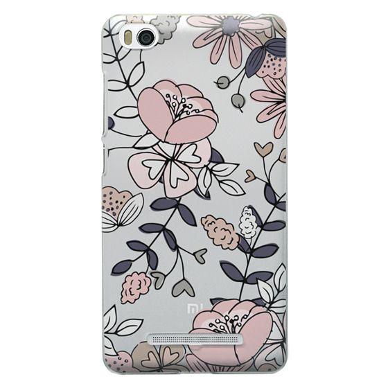 Xiaomi 4i Cases - Blush Floral
