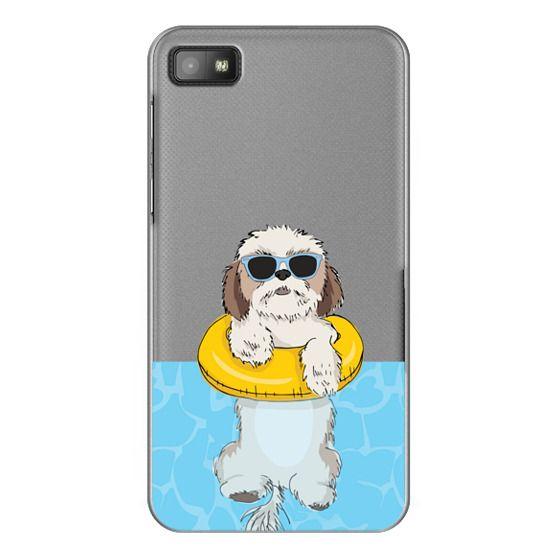 Blackberry Z10 Cases - Swimming Shih Tzu