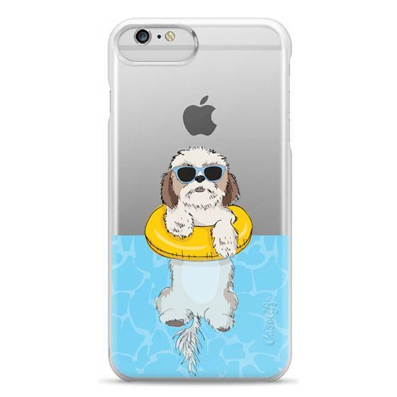 iPhone 6 Plus Cases - Swimming Shih Tzu