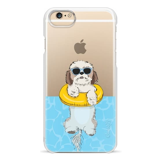 iPhone 6 Cases - Swimming Shih Tzu