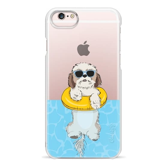 iPhone 6s Cases - Swimming Shih Tzu