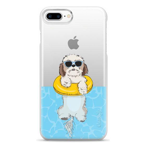 iPhone 7 Plus Cases - Swimming Shih Tzu