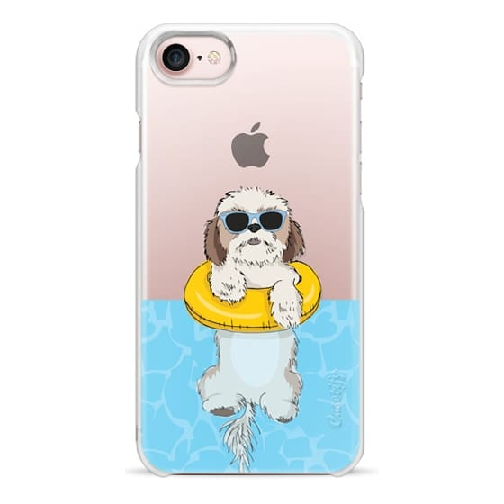 iPhone 7 Cases - Swimming Shih Tzu