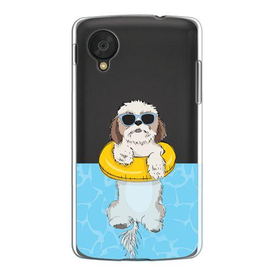 Nexus 5 Cases - Swimming Shih Tzu