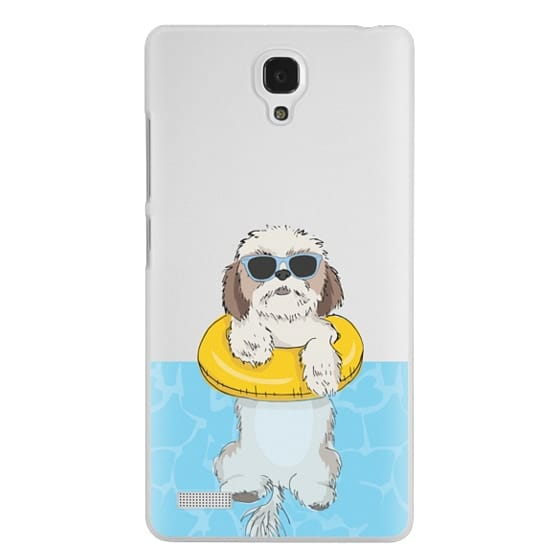 Redmi Note Cases - Swimming Shih Tzu
