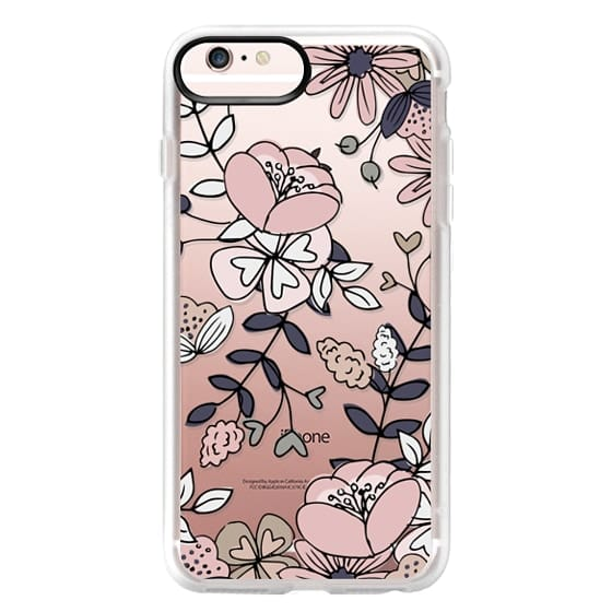 iPhone 6s Plus Cases - Blush Floral