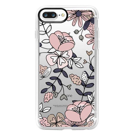 iPhone 7 Plus Cases - Blush Floral