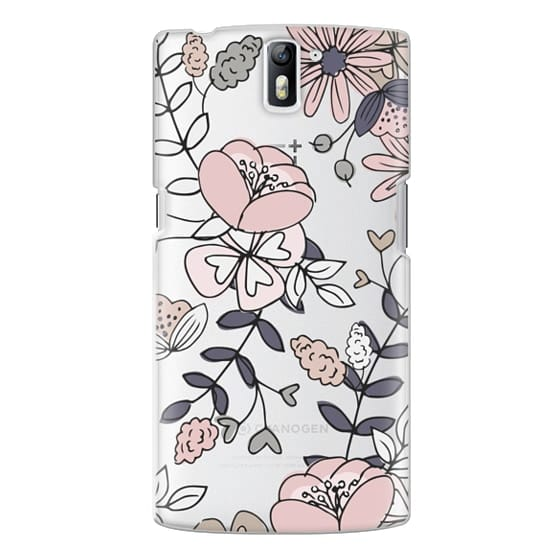 One Plus One Cases - Blush Floral