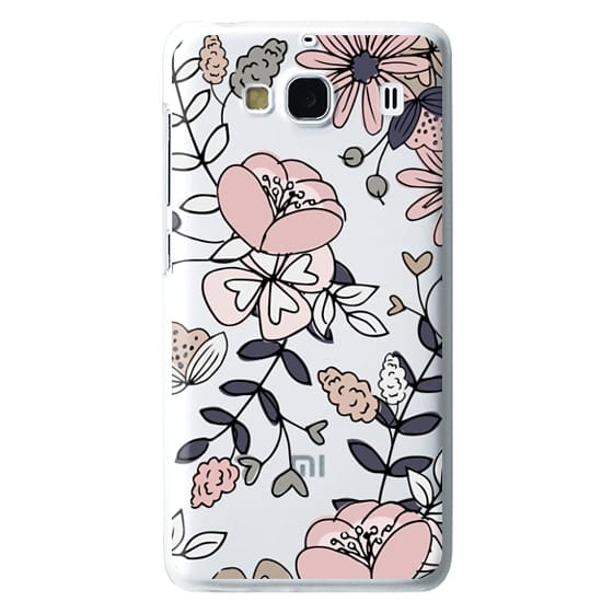 Redmi 2 Cases - Blush Floral