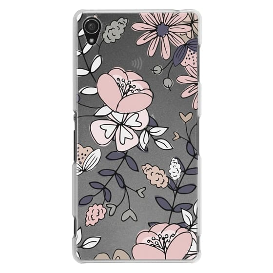 Sony Z3 Cases - Blush Floral