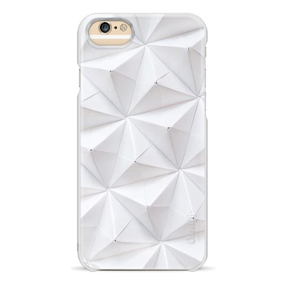 iPhone 6s Cases - Origami in White by Coco Sato