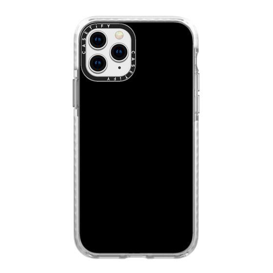 iPhone 11 Pro Cases - SOLIDS: Black