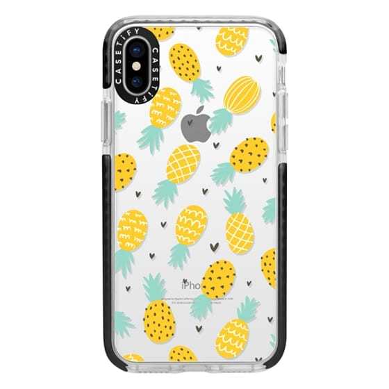 iPhone X Cases - Pineapple Love