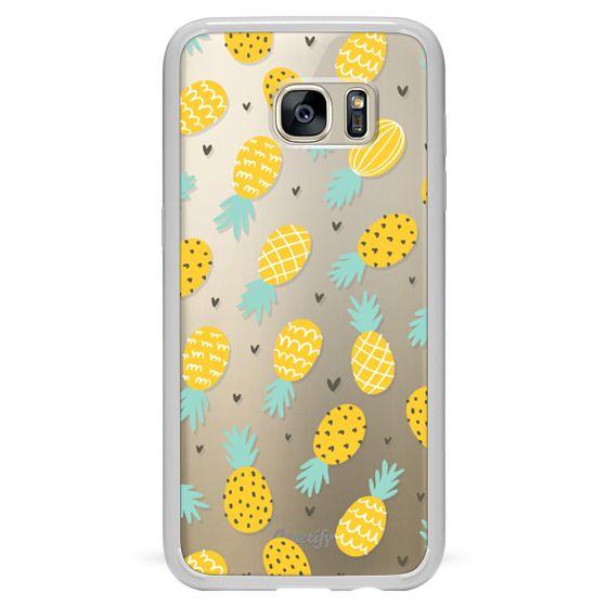 Samsung Galaxy S7 Edge Cases - Pineapple Love