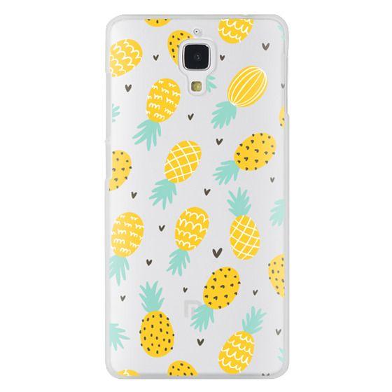 Xiaomi 4 Cases - Pineapple Love