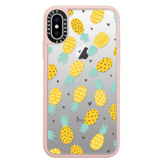 iPhone X Cases - Pineapple Love