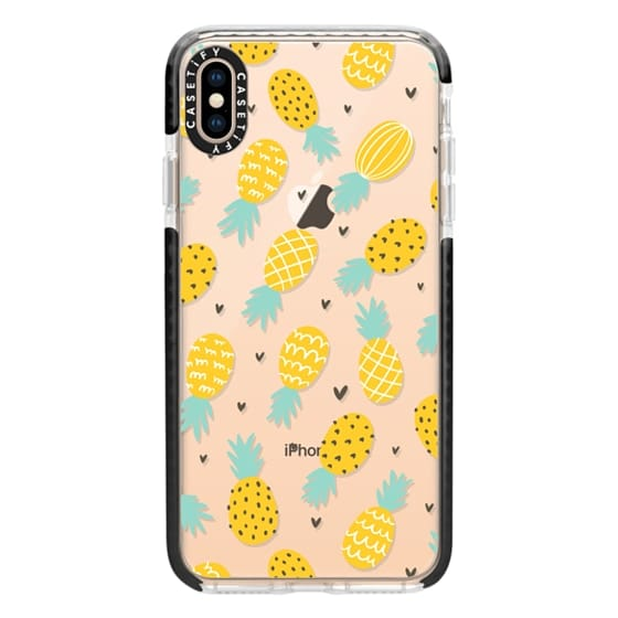 iPhone XS Max Cases - Pineapple Love