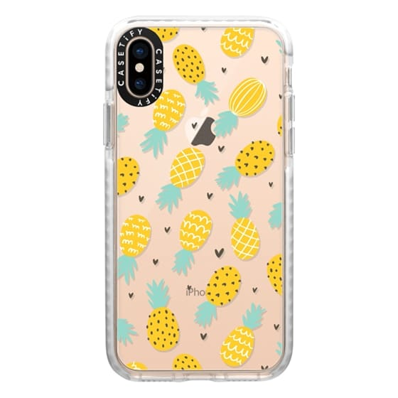 iPhone XS Cases - Pineapple Love