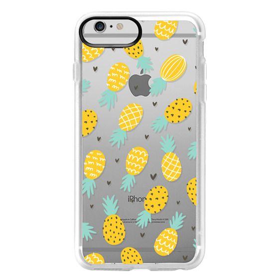 iPhone 6 Plus Cases - Pineapple Love