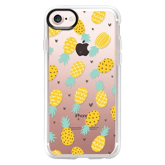 iPhone 4 Cases - Pineapple Love