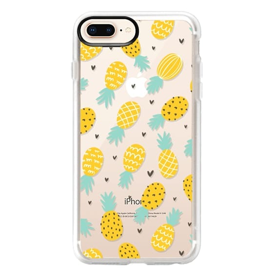 iPhone 8 Plus Cases - Pineapple Love