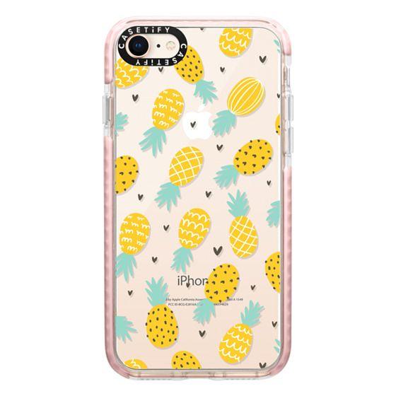 iPhone 8 Cases - Pineapple Love