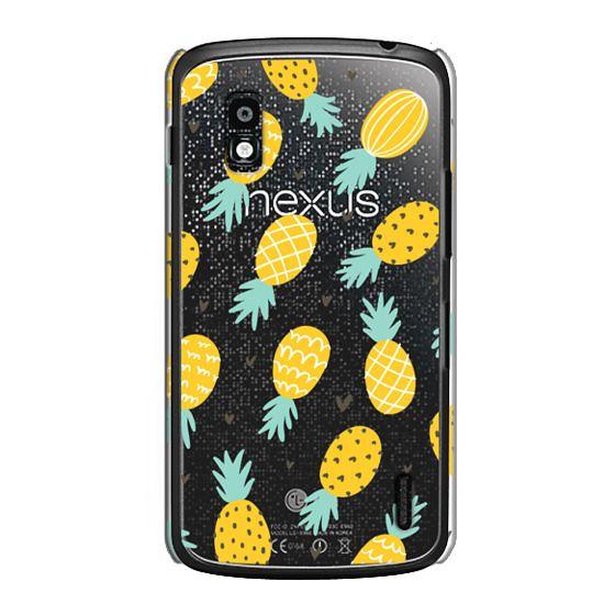 Nexus 4 Cases - Pineapple Love