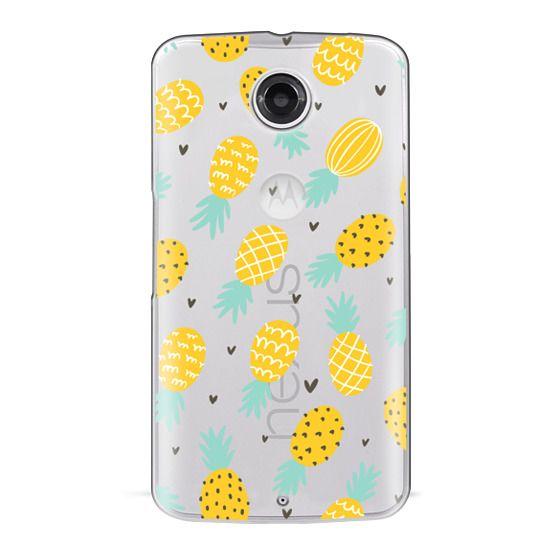 Nexus 6 Cases - Pineapple Love