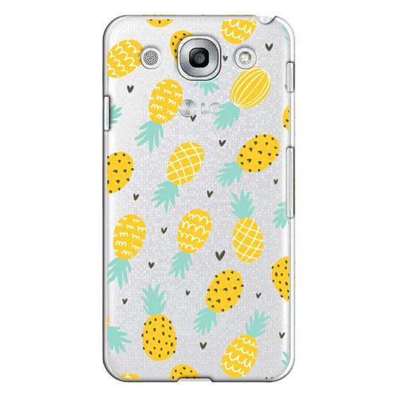 Optimus G Pro Cases - Pineapple Love