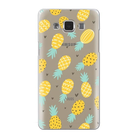 Samsung Galaxy A5 Cases - Pineapple Love