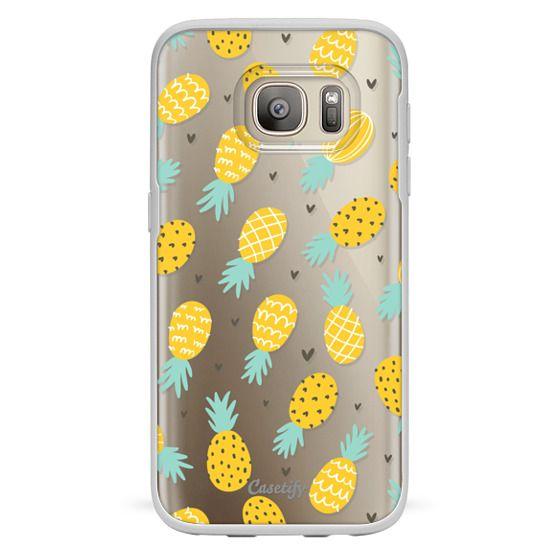 Samsung Galaxy S7 Cases - Pineapple Love
