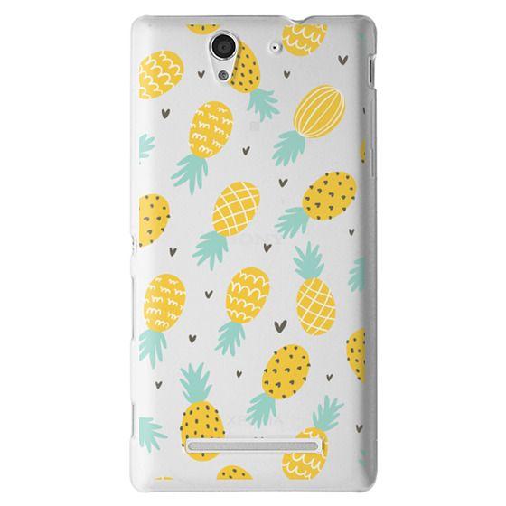 Sony C3 Cases - Pineapple Love