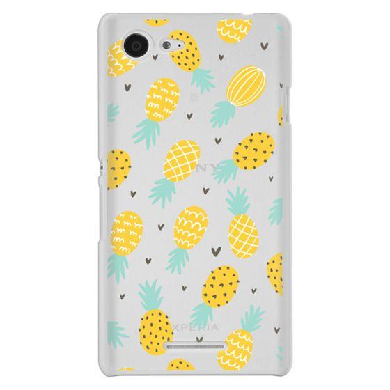 Sony E3 Cases - Pineapple Love