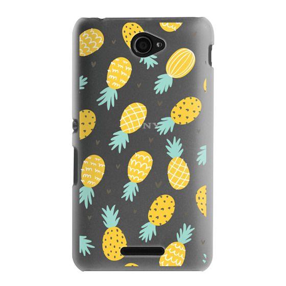 Sony E4 Cases - Pineapple Love