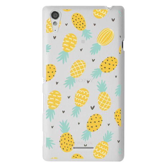 Sony T3 Cases - Pineapple Love