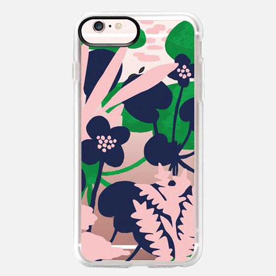 iPhone 6s Plus Case - Wetland flowers transparent