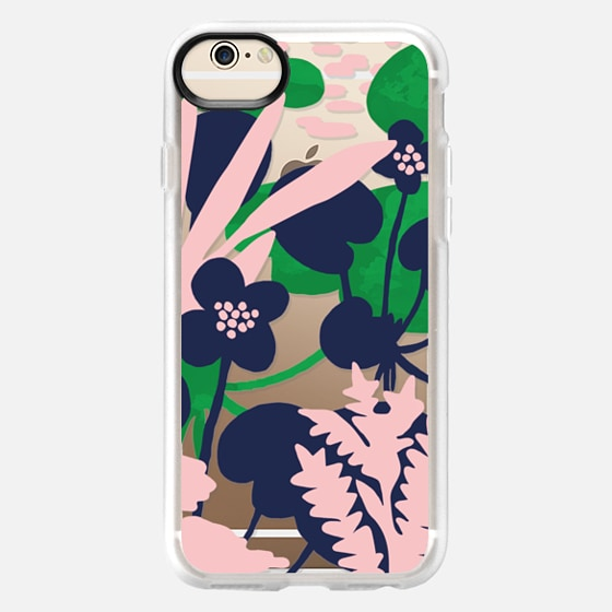 iPhone 6 Case - Wetland flowers transparent