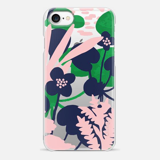 iPhone 7 Case - Wetland flowers transparent