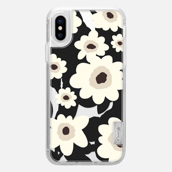 iPhone X Capa - Flowers