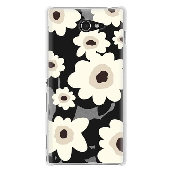 Sony M2 Cases - Flowers
