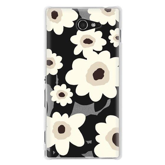 Sony M2 Cases - Flowers