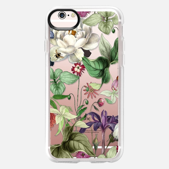 iPhone 6s Case - MOTELS BOTANICAL PRINT - TRANSPARENT