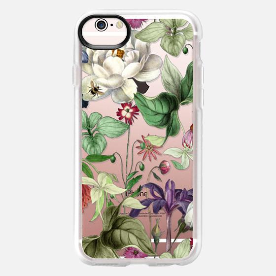iPhone 6s 保護殼 - MOTELS BOTANICAL PRINT - TRANSPARENT