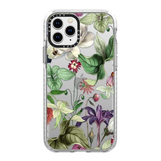 iPhone 11 Pro Cases - MOTELS BOTANICAL PRINT - TRANSPARENT