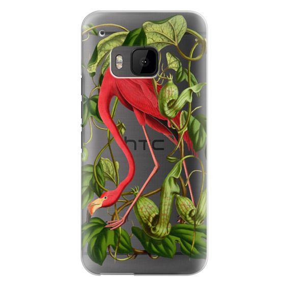 Htc One M9 Cases - Flamingo