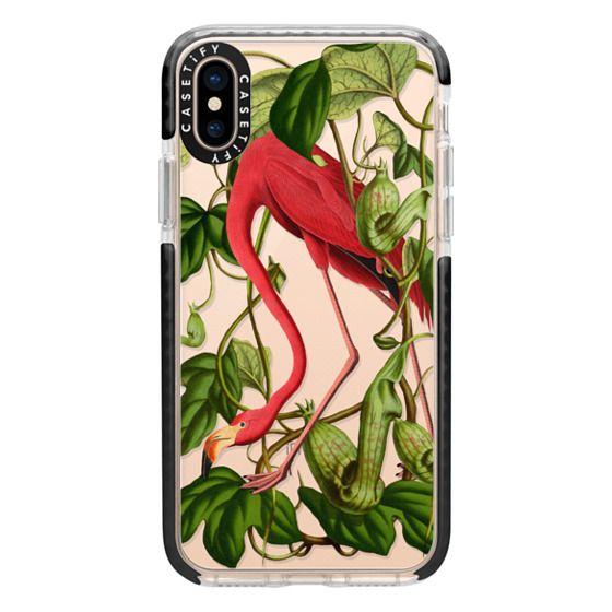 iPhone XS Cases - Flamingo