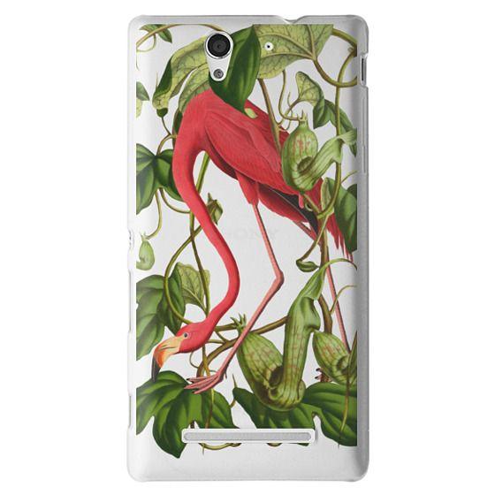 Sony C3 Cases - Flamingo
