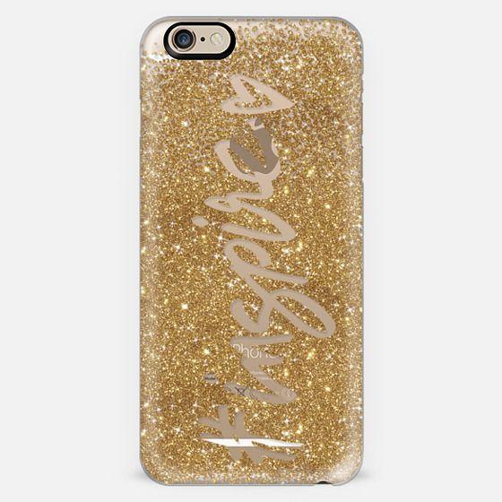 #Inspire Gold Glitter