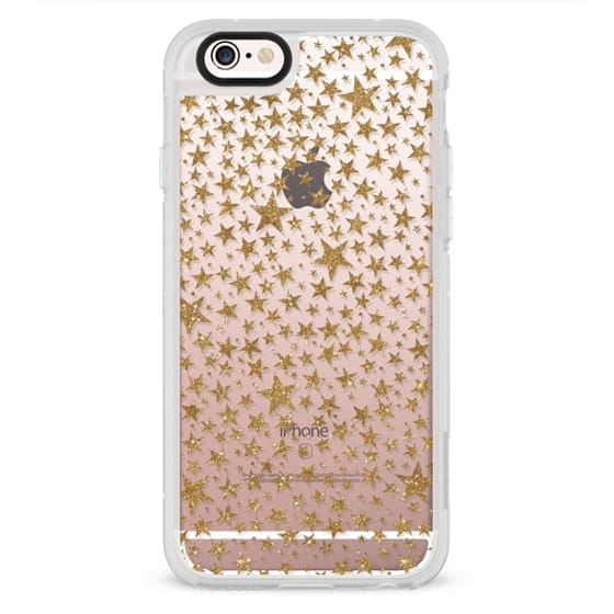 iPhone 6s Cases - Glitter Superstar Gold
